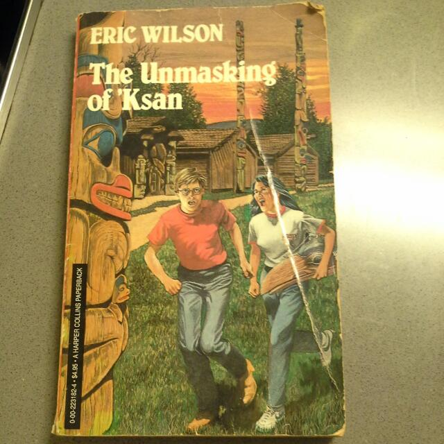 The Unmasking Of 'Ksan By Eric Wilson