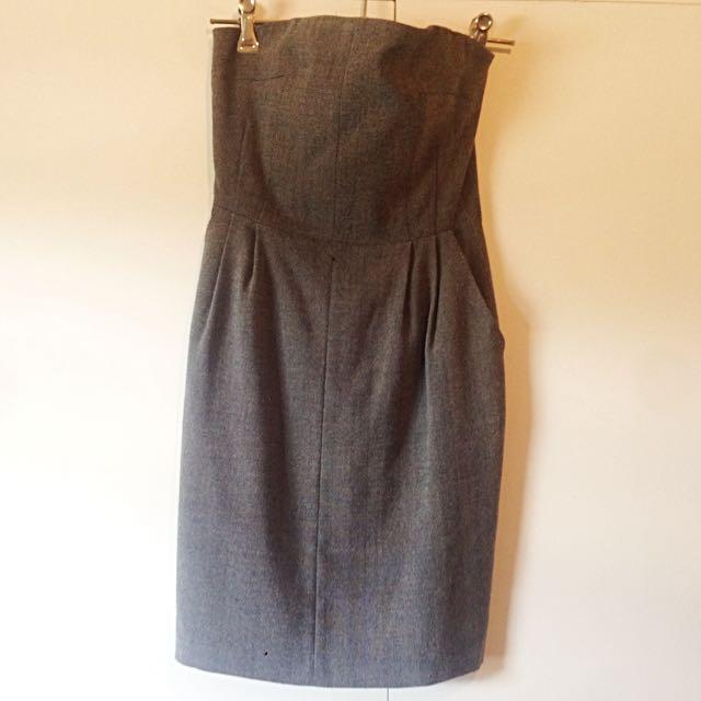 Tokito Strapless Dress Size 8
