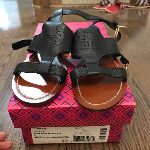 Tory Burch perforated sandal