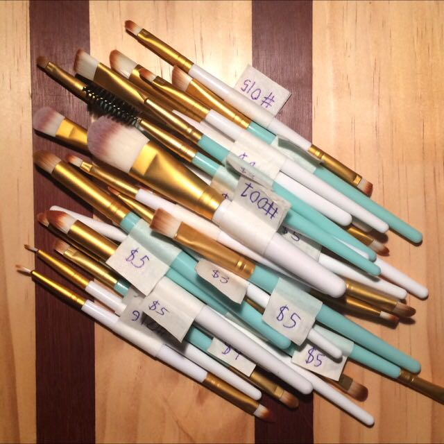 Various Makeup Brushes (sold individually)