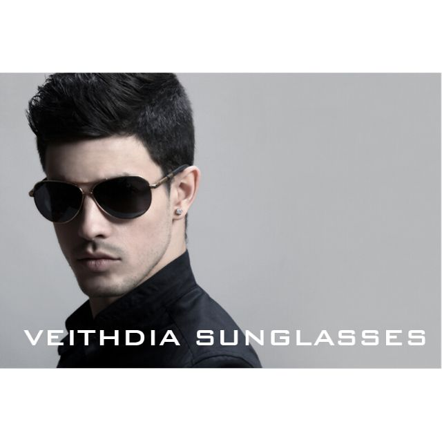 Veithdia Kacamata Aviator Polarized Sunglasses aaff7a5419