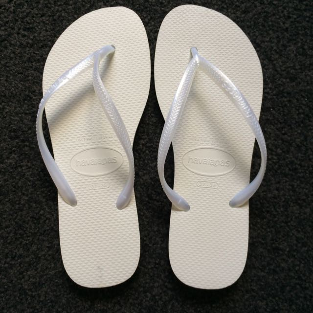 White Havaianas