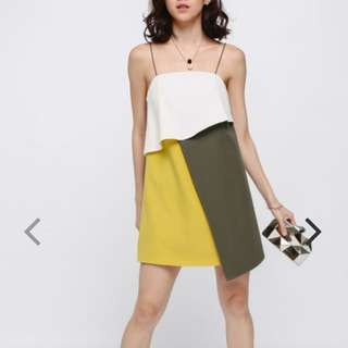 LOOKING FOR Lanse Layered Colour Block Dress