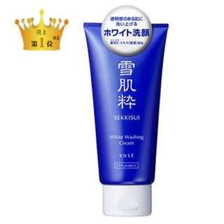 日本連線代購☑️雪肌粹洗面乳
