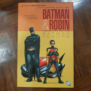 Batman & Robin Vol. 1: Batman Reborn (Deluxe Hardcover)