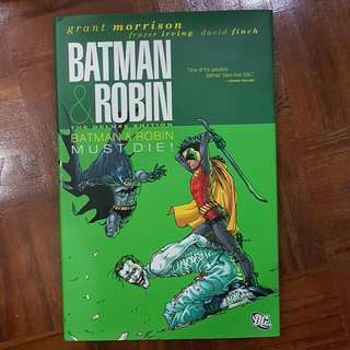 Batman & Robin Vol. 3: Batman Must Die (Deluxe Hardcover)