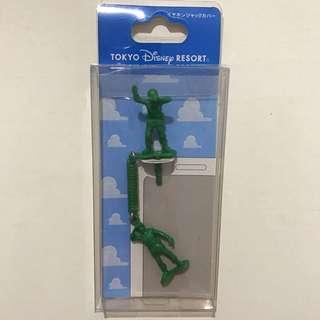 Tokyo Disney限定Toy Story反斗奇兵Soldier士兵Earphone Jack