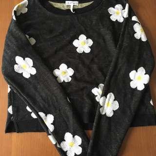 LA hearts Crop Sweater