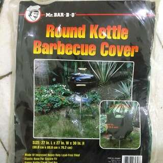 Round Kettle Barbecue Cover 戶外家具 烤架 燒烤 防雨罩