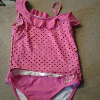 Wavetribe Girls Swimming Costume