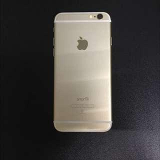 iPhone6 16G金色八九成新二手空機