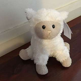 Brand New Pumpkin Patch Sheep Soft Toy