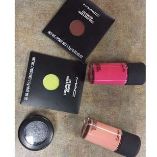 4 peice mac set 25.00 or 10.00 each