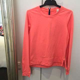 Lululemon Fluro Neon Sports Jumper