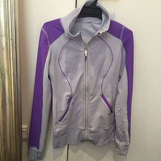 Lululemon Purple Zip Up Jacket