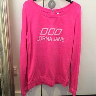 Lorna Jane Pink Jumper