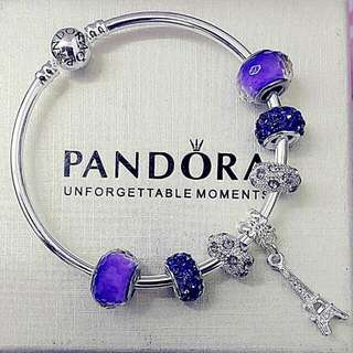 Pandora Inspired Bracelet Material Silver Plated