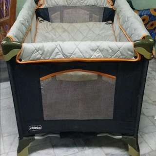 Chicco crib/playpen REPRICED