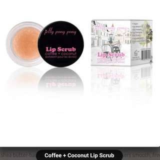 Jelly Pong Pong Coffee + Coconut Lip Scrub