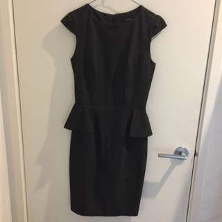 Peplum work pencil dress (Now)