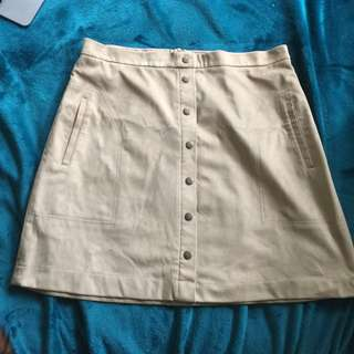 FRENCH CONNECTION BRAND NEW TAN SKIRT