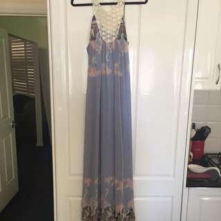 Piper Lane Floral Maxi Dress Size 10