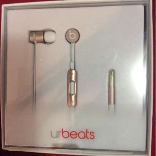 PRICE IS FIRM*NIB AUTHENTIC Rose Gold Dr. Dre urBeats Headphones