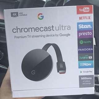 Google Chromecast ultra 4K Latest Model