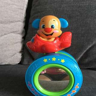 Fisher Price Laugh N Learn Puppy's Crawl-along Ball