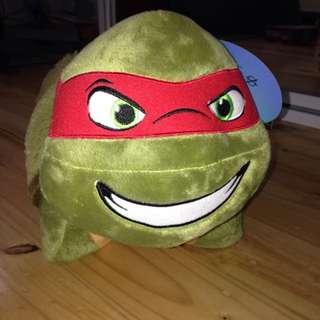 Pillow Pet • Raphael Ninja Turtle