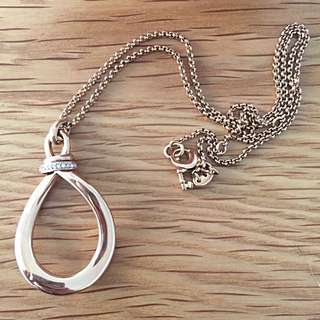 Fossil (brand) Rose Gold Necklace