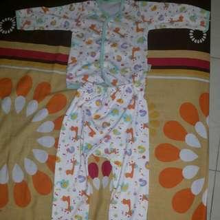 Pijamas Baby Lengan Panjang