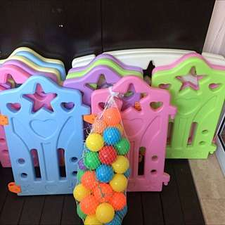 Baby Playpen Safety Fence