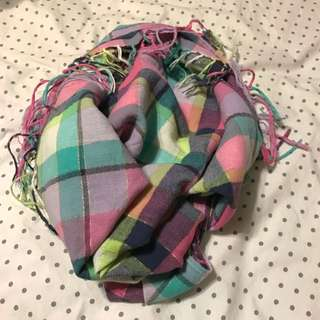 H&M Plaid Scarf