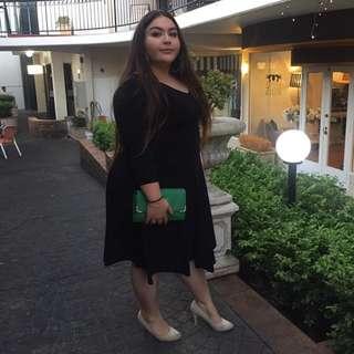 Black Wrap Dress