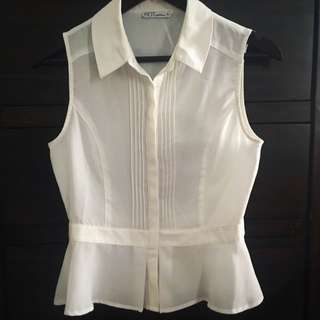 Size 8 Peplum Shirt
