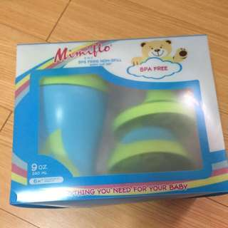 Mimiflo 3 in 1 Non-Spill Sippy Cup