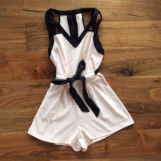 White Closet Playsuit
