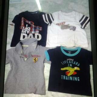 Baby Boy Clothes (From 3 Months To 12 Months)