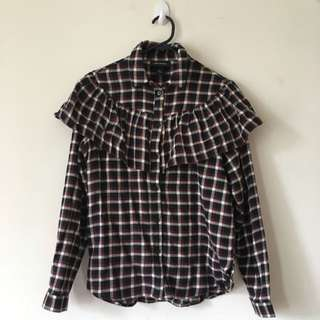 Monki Frill Shirt