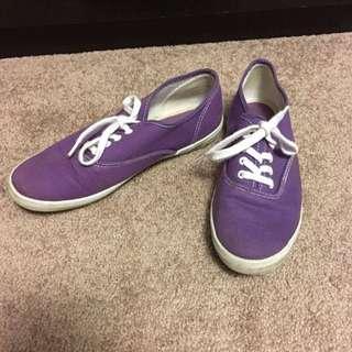 Purple Aldo Sneakers (Size 7)