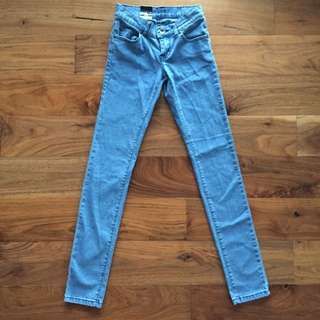 🔻Dr Denim Retro Blue Skinny Denim Jeans