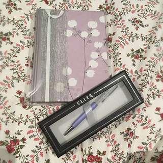 Journal & Pen Combo