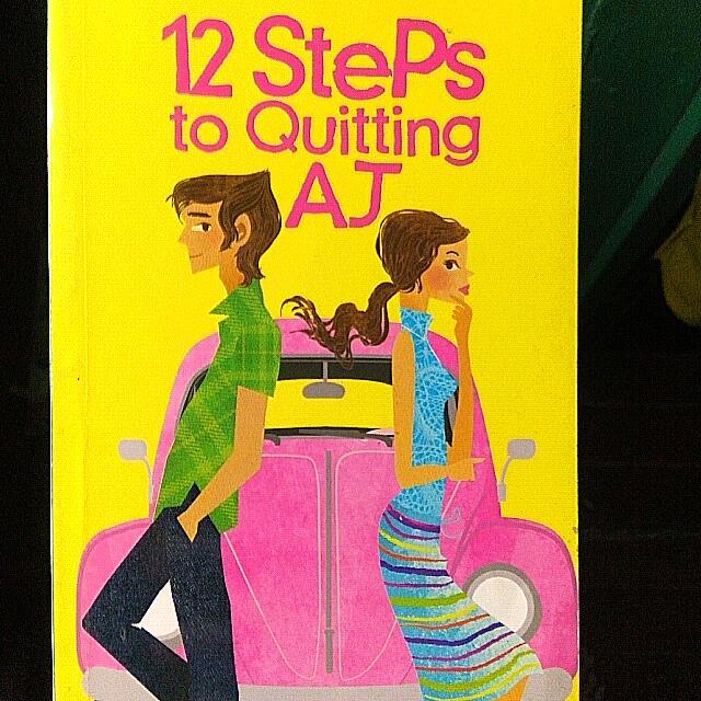 12 Steps To Quittig AJ POCKETBOOK
