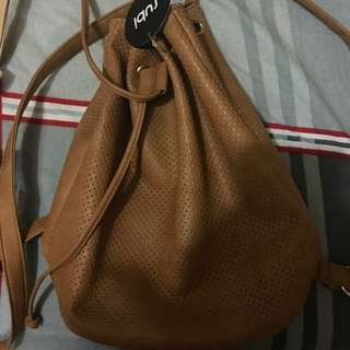 Rubi Shoes Brown Leather Bag