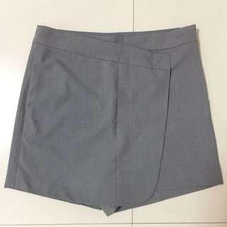 Rok-celana Semi Wool Grey