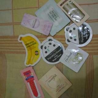 sample Korean Skin Care Product