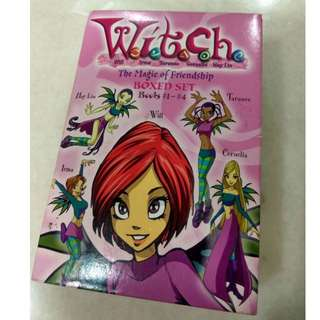 W.i.t.c.h.: The Magic of Friendship Boxed set (Books #1-4)