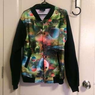 Galaxy Print Jacket