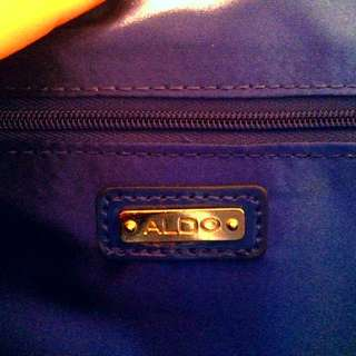 Also Royale Blue Clutch
